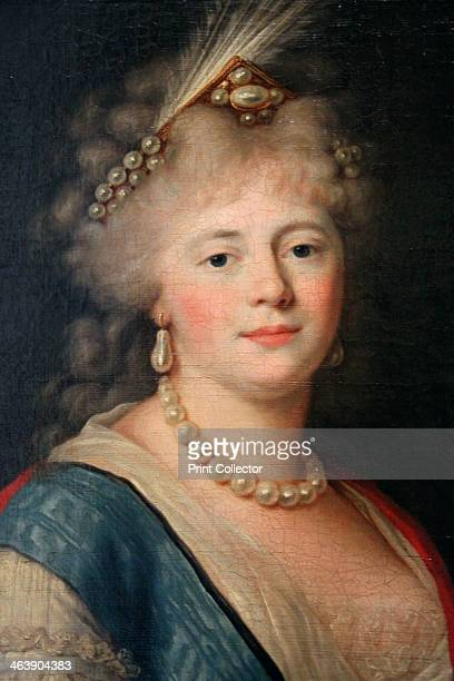 'Portrait of Empress Maria Feodorovna' late 18th century Detail Sophie Dorothea of Württemberg was the second wife of Tsar Paul I of Russia who she...