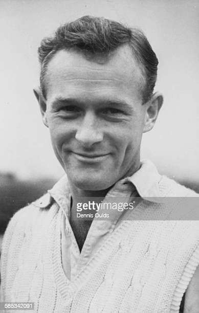 Portrait of England and Worcestershire cricket player Peter Richardson June 1958