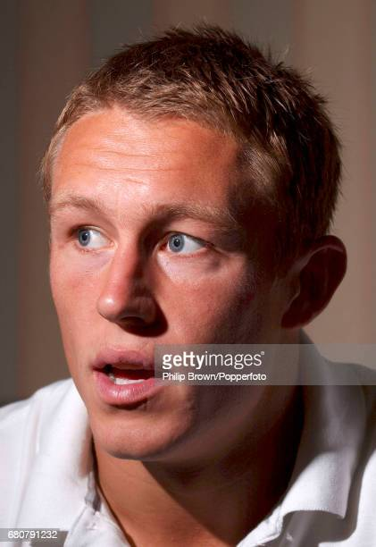 A portrait of England rugby player Jonny Wilkinson in Bagshot Surrey on the 23rd September 2003