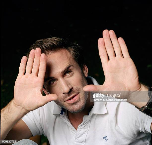 Portrait of English actor Joseph Fiennes United Kingdom circa 2005