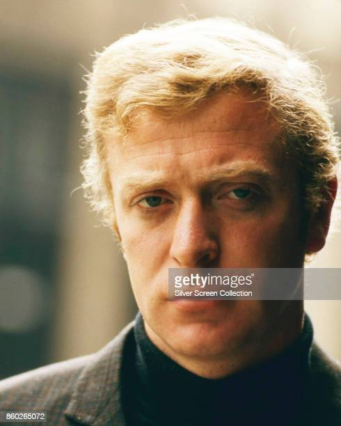 Portrait of English actor Michael Caine mid 1960s