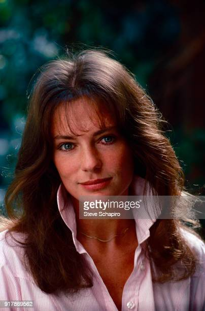 Portrait of English actress Jacqueline Bisset mid 1970s