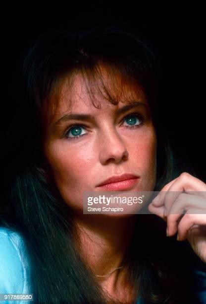 Portrait of English actress Jacqueline Bisset mid 1970s