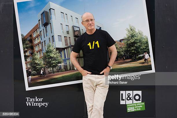A portrait of English author/writer Ian Sinclair in his native Hackney the location for many of his dystopian views on East London and Britain...
