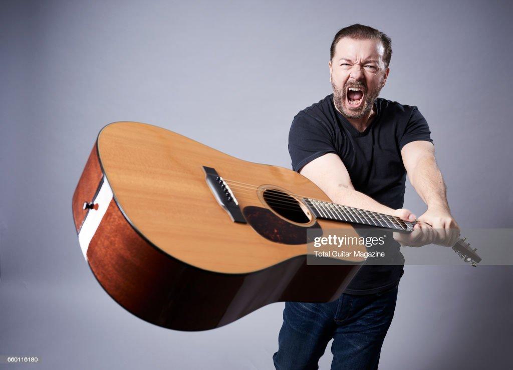 Ricky Gervais Portrait Shoot