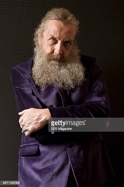 Portrait of English comic book writer Alan Moore, taken on September 6, 2013. Moore is often considered the finest writer in the comics medium, and...