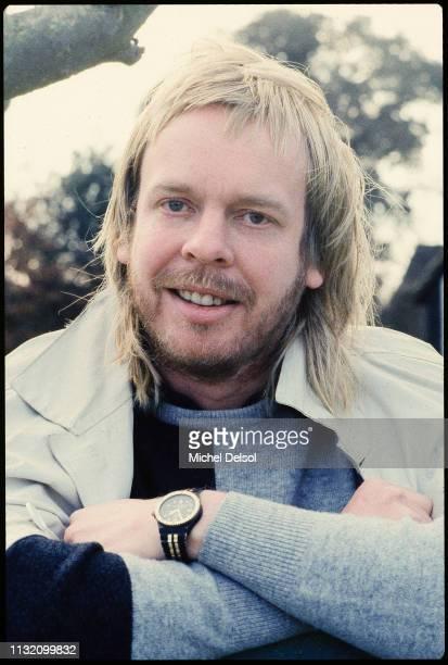 Portrait of English composer and musician Rick Wakeman Sunningdale Surrey England January 20 1988