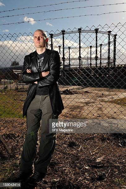 Portrait of English fantasy author China Mieville taken on March 25 2009 in London