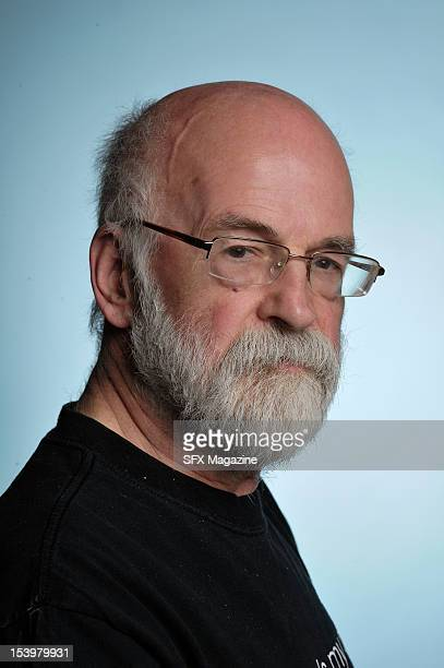 Portrait of English fantasy author Sir Terry Pratchett best known for his Discworld series of novels taken on June 3 2011
