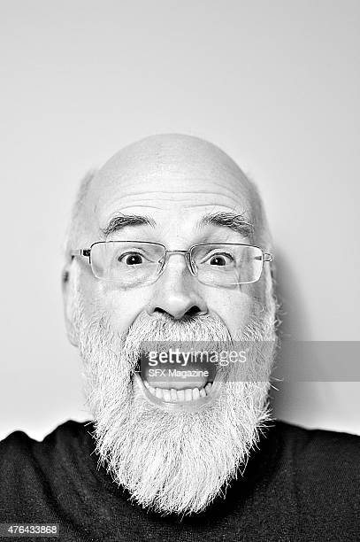 Portrait of English fantasy writer Sir Terry Pratchett best known as the author of the Discworld series of books taken on March 18 2011