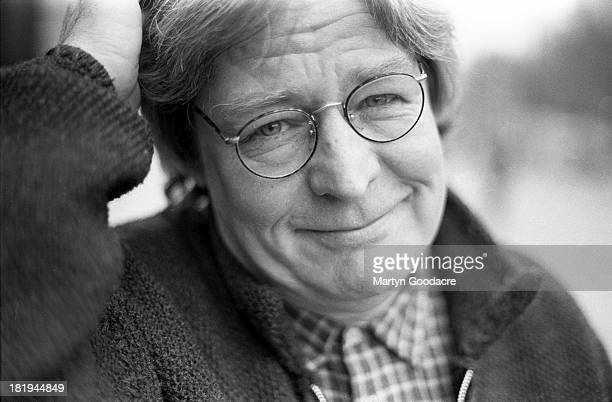 Portrait of English film director and screenwriter Alan Parker London 1994