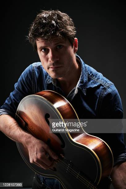 Portrait of English folk musician Seth Lakeman, photographed in Bath, England, on November 20, 2019.