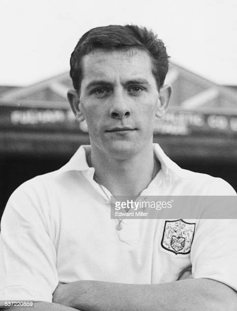 Portrait of English football player Allan Mullery right half with Fulham Football Club January 13th 1962