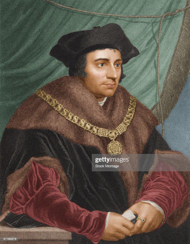 Portrait Of Thomas More : News Photo