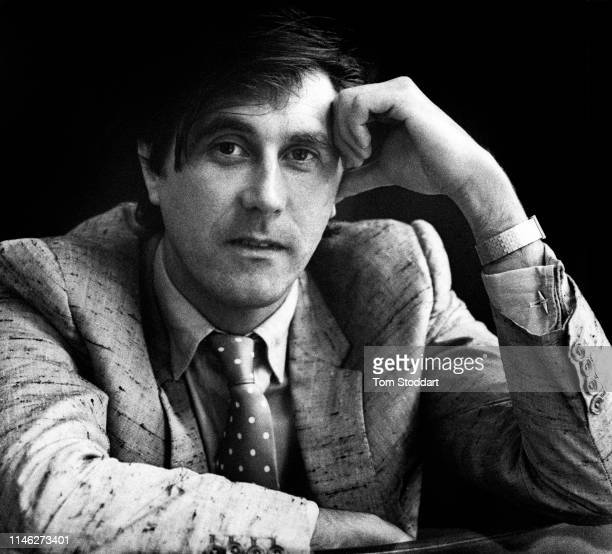 Portrait of English musician Bryan Ferry of the group Roxy Music London England 1982