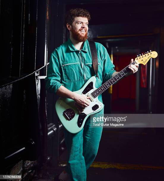 Portrait of English musician Jack Garratt photographed before a live performance at Thekla in Bristol England on February 23 2020