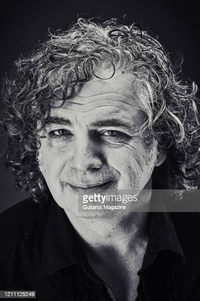 Portrait of English musician Jakko Jakszyk photographed in Bath England on May 23 2019 Jakszyk is best known as a guitarist and vocalist with...