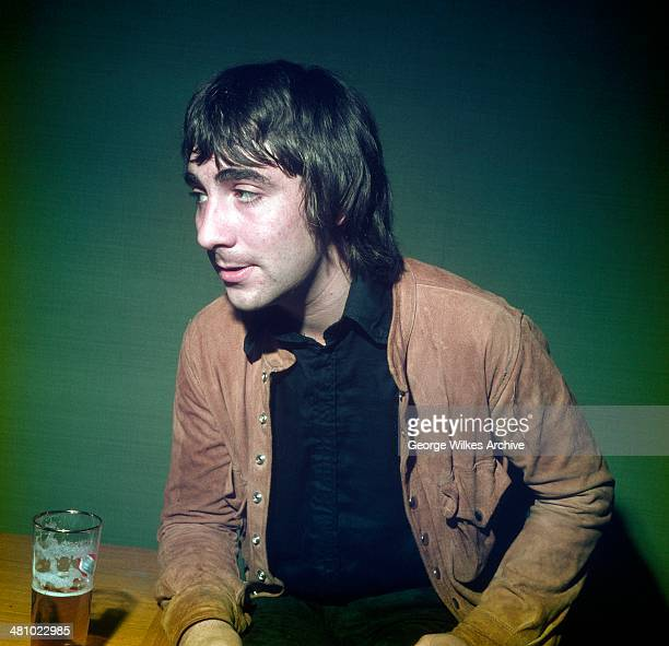 Portrait of English musician Keith Moon of the band the Who London England 1978
