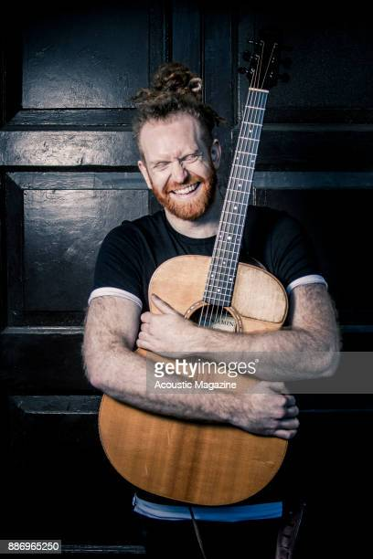Portrait of English musician Newton Faulkner photographed before a live performance at the Pavilion Theatre in Bournemouth on April 2 2017