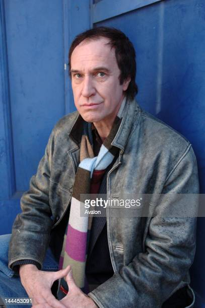 Portrait of English musician Ray Davies photographed in London in January 2006