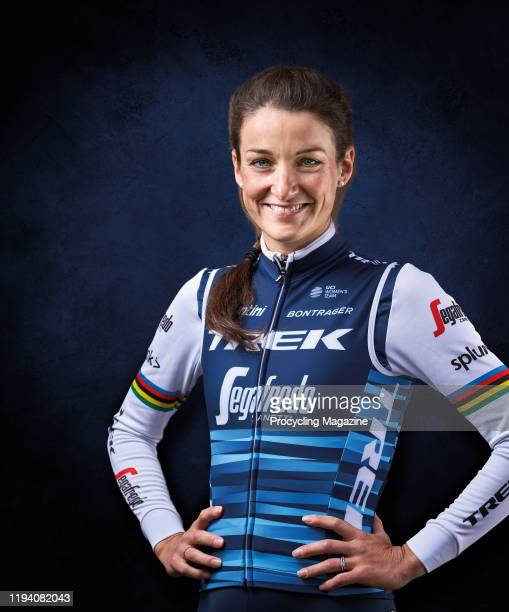 Portrait of English professional track and road racing cyclist Lizzie Deignan photographed in Harrogate North Yorkshire on June 17 2019