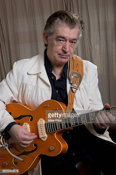 Portrait of English rock guitarist Chris Spedding, United Kingdom, 23rd January 2015.