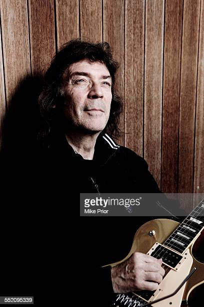 Portrait of English rock guitarist Steve Hackett United Kingdom 4th February 2007