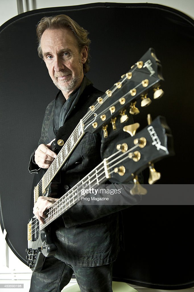 Portrait of English rock musician Mike Rutherford, photographed in London on December 16, 2013. Rutherford is best known as a founding member of progressive rock group Genesis.