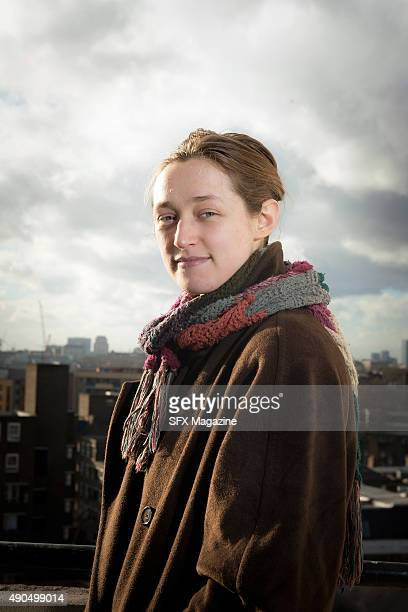 Portrait of English science fiction and fantasy author Catherine Webb, photographed in London on january 15, 2015. Webb is best known for her Horatio...