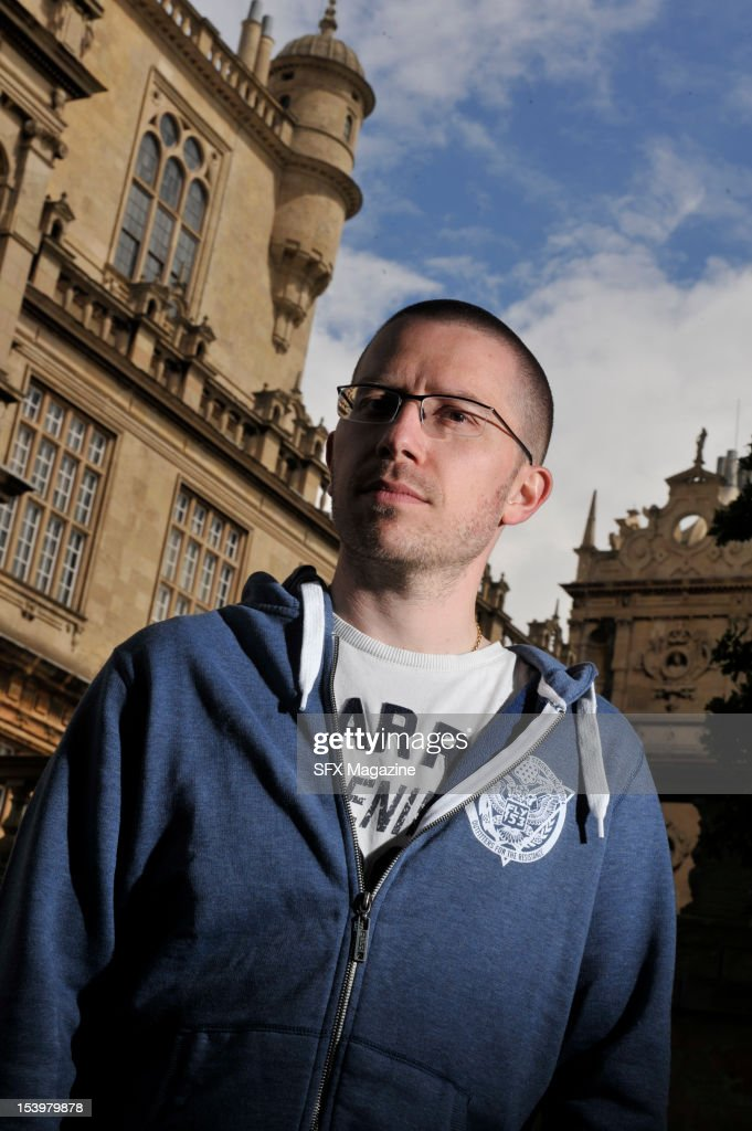 Portrait of English science fiction author Nick Kyme, taken on July 7, 2011.