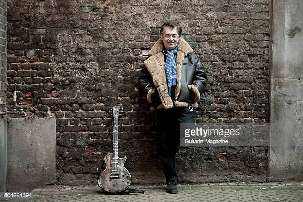 Portrait of English session musician Chris Spedding photographed in London, on January 29, 2015. Spedding is best known as a rock and jazz guitarist,...