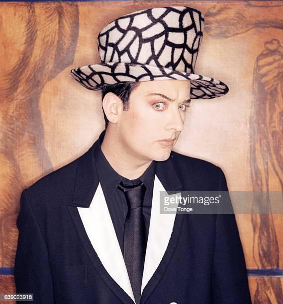 Portrait of English singer Boy George of Culture Club London United Kingdom 1998