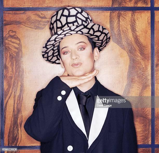 Portrait of English singer Boy George of Culture Club, London, United Kingdom, 1998.