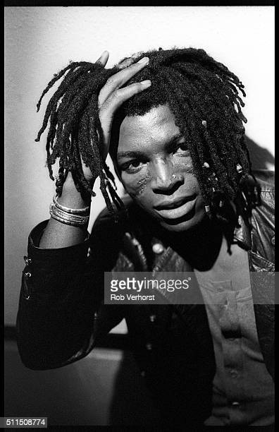 Portrait of English singer Seal at a TV studio Bussum Netherlands 21st May 1991