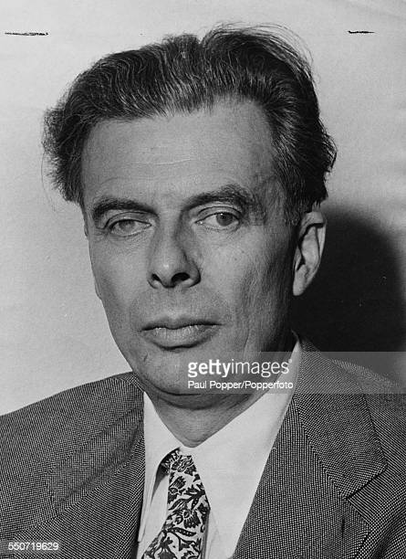 Portrait of English writer and philosopher Aldous Huxley circa 1940