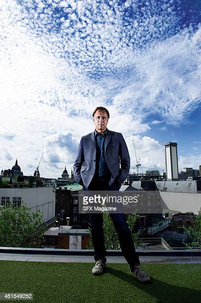 Portrait of English writer Anthony Horowitz photographed in London on August 13 2012 Horowitz is best known as a novelist and television screenwriter...
