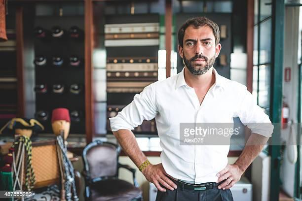 Porträt der Unternehmer