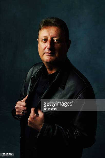 A portrait of Eric 'Crafty Cockney' Bristow of England taken during the Paddy Power World Grand Prix on October 2026 2003 at the City West Hotel in...