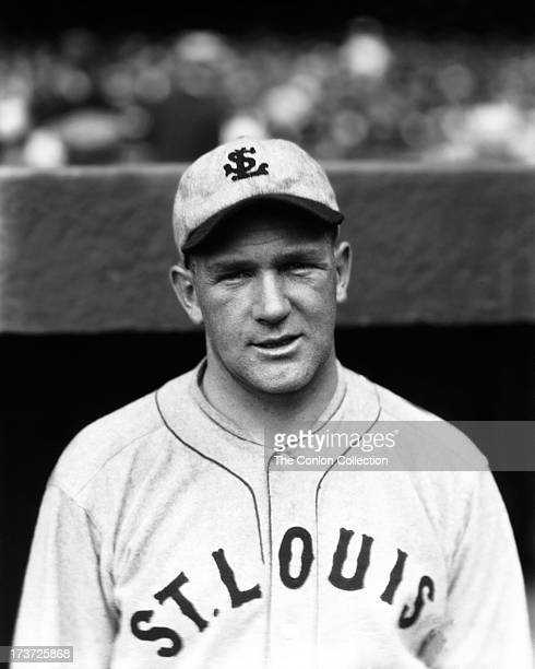 A portrait of Ernest A Nevers of the St Louis Browns in 1927