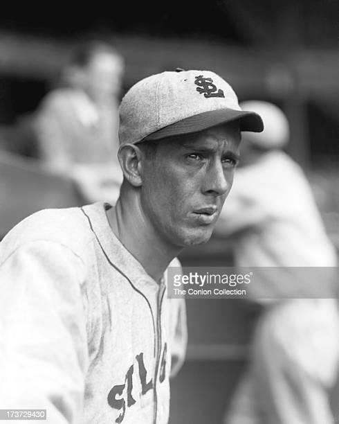 A portrait of Ernest J Wingard of the St Louis Browns in 1927