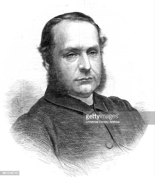 Portrait of Ernest Wilberforce an Anglican clergyman and bishop Dated 19th Century