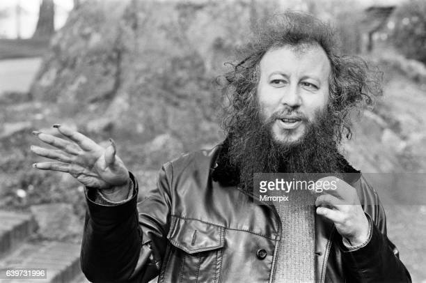 Portrait of ex Fleetwood Mac pop group member Peter Green 10th April 1987