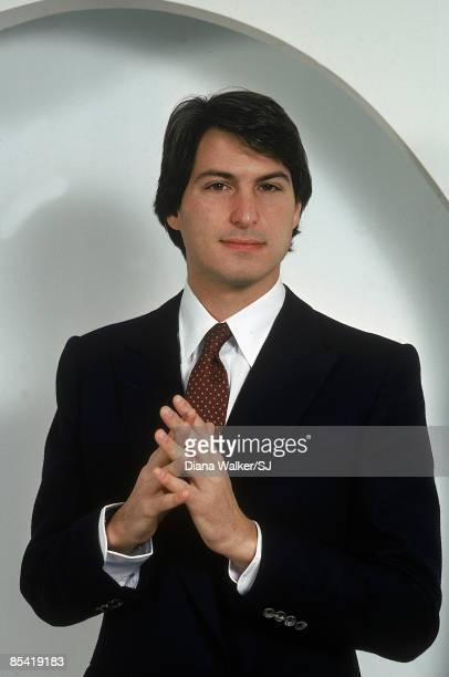 Portrait of executive Steven Jobs of Apple Computer on December 15 1982 in Cupertino Ca at the Apple Computer Co Headquarters IMAGE PREVIOUSLY A TIME...