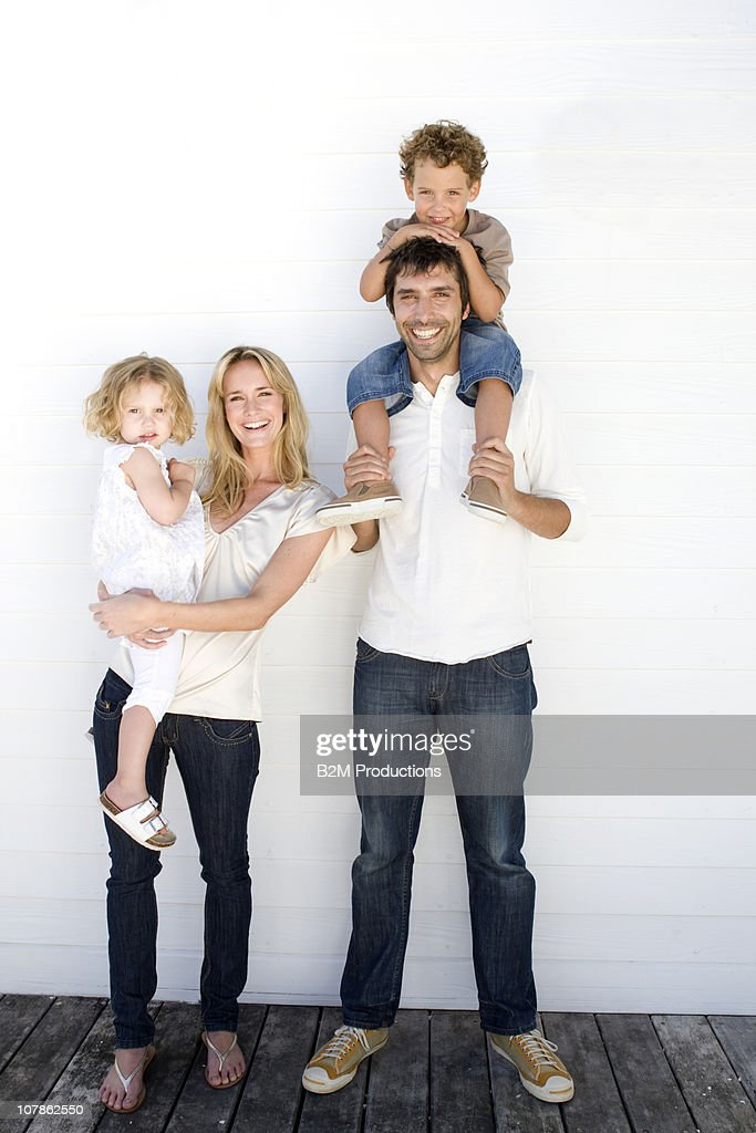 Portrait of familly : Stock Photo