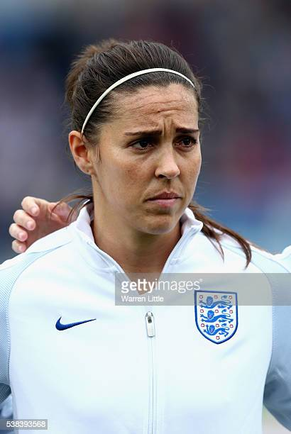 A portrait of Fara Williams of England ahead of the UEFA Women's European Championship Qualifying match between England and Serbia at Adams Park on...