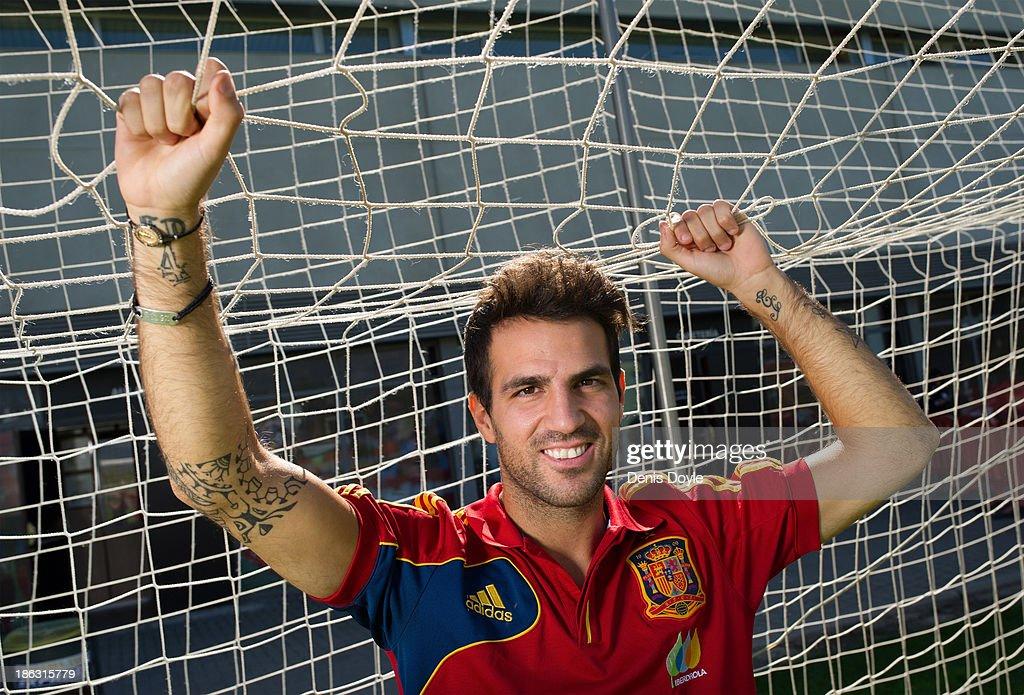 Cesc Fabregas Photo Shoot : News Photo