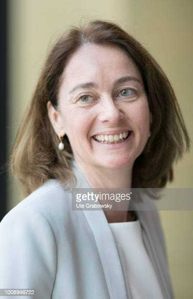 Portrait of Federal Minister of Justice Katarina Barley SPD on July 10 2018 in KARLSRUHE GERMANY