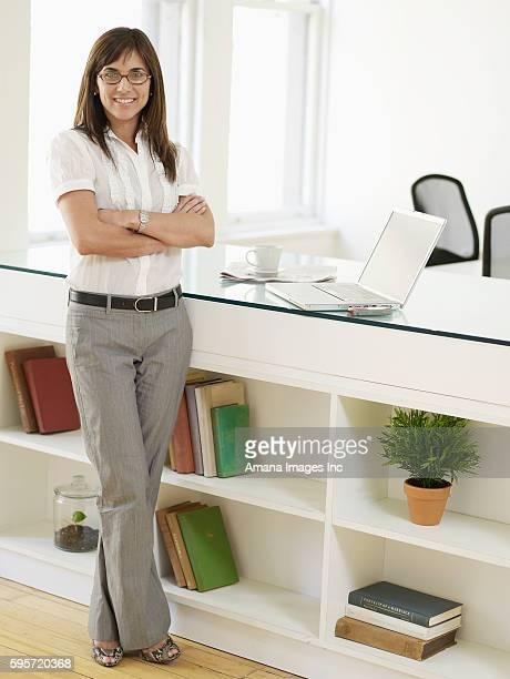 Portrait of Female Businesswoman