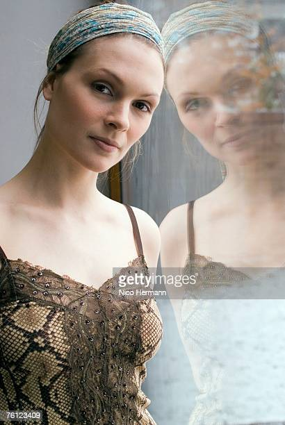 Portrait of female dancer