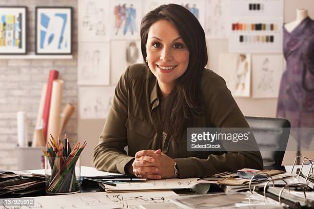 Portrait of female designer